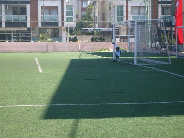 Heybeliada gol oldu yağdı
