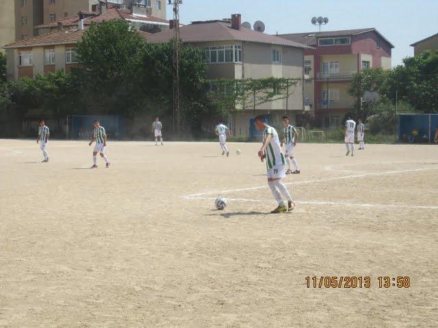 Adalar Spor 'un Gençleri gol oldu yağdı