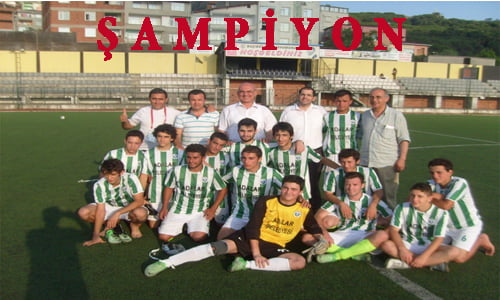 Adalarspor U19/2 şampiyon oldu