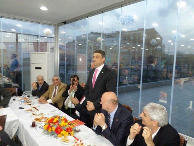 Umut Oran'dan suç duyurusu,Umut Oran Taksim Spor Kulübünü ziyaret etti