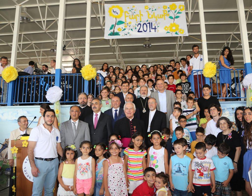Karagözyan Yaz Kampı Öğrencilere Kapılarını Açtı