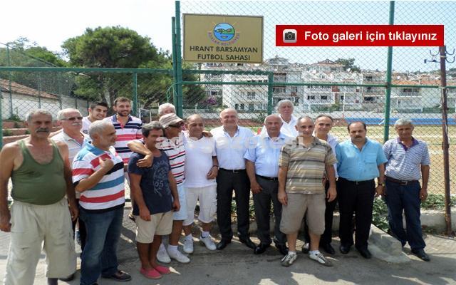 Hrant Barsamyan tabelasını asmak Aytaç'a nasip oldu