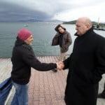 Adalar Belediye Başkanı afet bölgesinde