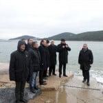 İBB Fen İşleri Daire Başkanı Adalar'da