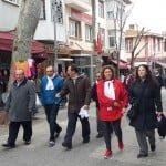Adalılar sağlık için yürüyor