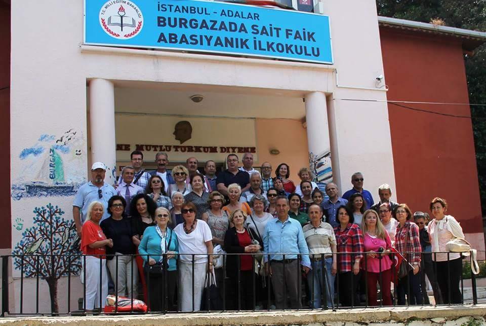 Burgazadası'nda anlamlı buluşma