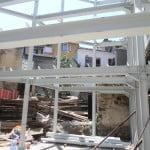 Besim Üstünel kreş ve çocuk yuvası inşaatında çökme