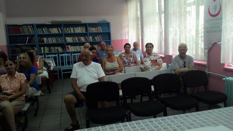 Burgazadası'nda ''Temel Yaşam Desteği ve İlk Yardım ''