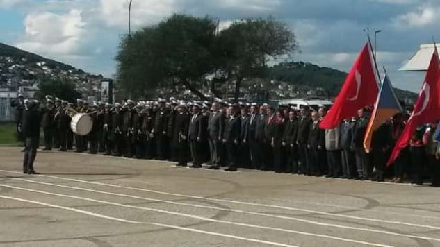Büyükada'da 29 Ekim Cumhuriyet Bayramı