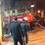 Büyükada'da korkutan yangın