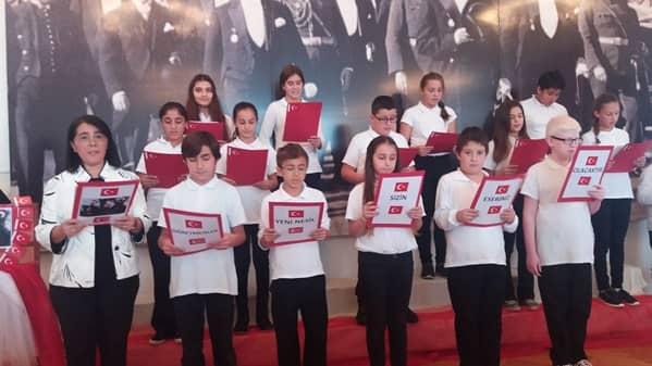 Büyükada'da Öğretmenler günü kutlaması