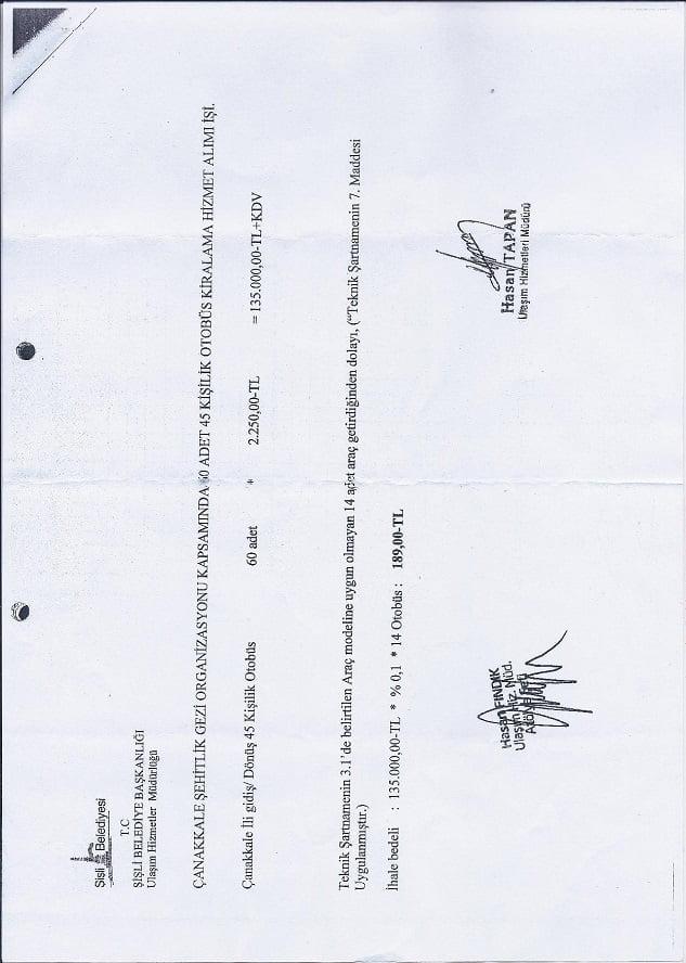 Şişli Belediyesi'nde yolsuzluk iddiası
