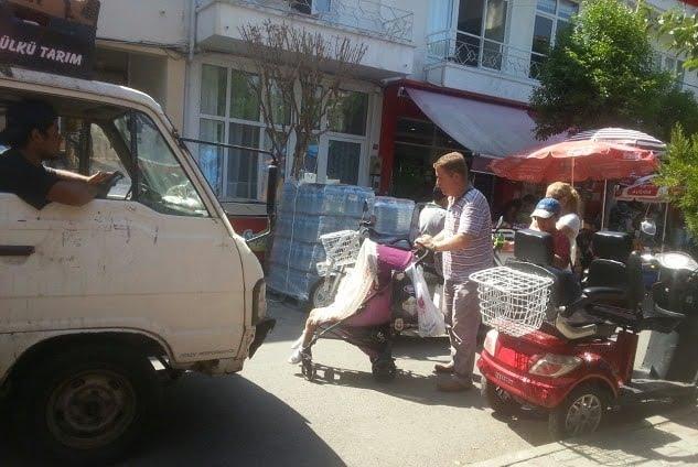 Kınalıada'ya İSPARK'dan akülü araç