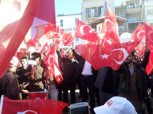 """Adalar Ak Parti """"KARARIMIZ EVET"""" için Büyükada'dan çalışmalara başladı"""