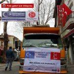 Milliyetçi Hareket Partisi Adalar İlçe Başkanlığı'ndan Suriye'deki soydaşlara yardım