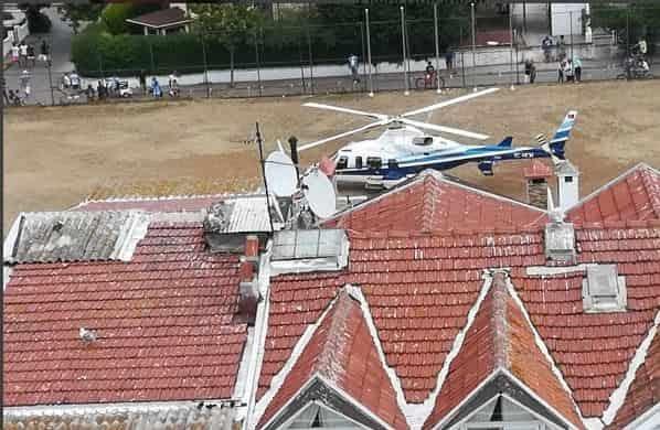 Beşiktaş belediye başkanının Kınalıada'ya geldiği helikopterin kime ait olduğu ortaya çıktı!