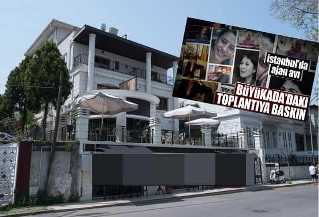 Büyükada'daki Ascot Otel'e 'Gizli Tanık 1' operasyonu