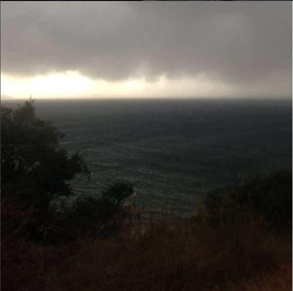 Fırtına Burgazadası'nda etkili oldu