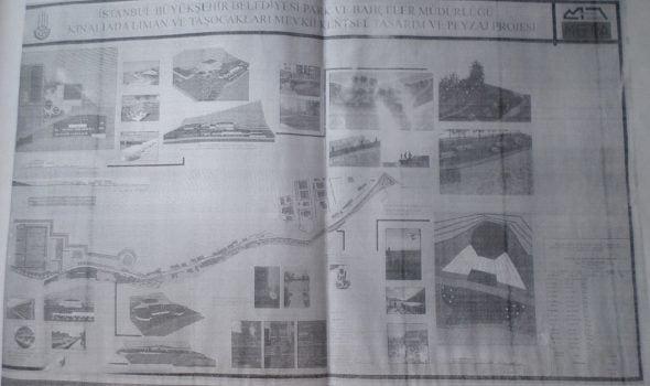 """Kınalıada """"Taşocakları Spor kompleksi Projesi"""" nasıl katledilip çöp döküm yeri haline getirildi!"""
