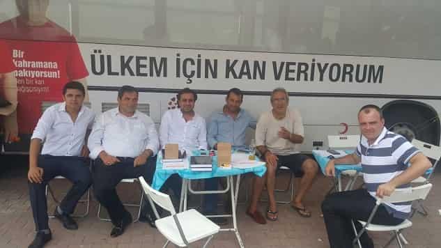 Kınalıada'da kan bağışı kampanyası düzenlendi.