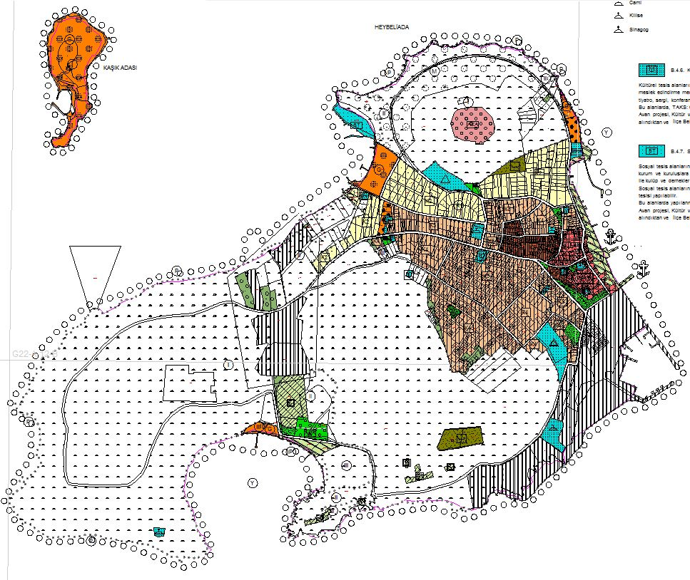 Adaların 2011 yılı 1/5000 Ölçekli Koruma Amaçlı Nazım İmar Planları