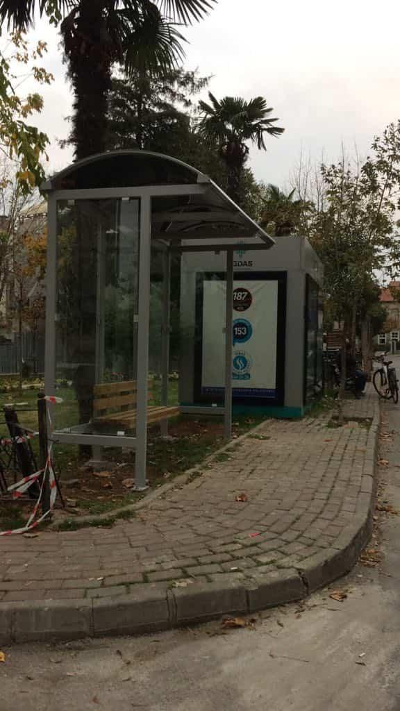 Büyükada'ya otobüs durağı!