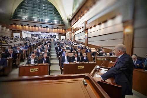 İstanbul Büyükşehir Belediyesi'nin 20 milyar 100 milyon liralık 2018 Yılı Bütçesi'ni onayladı