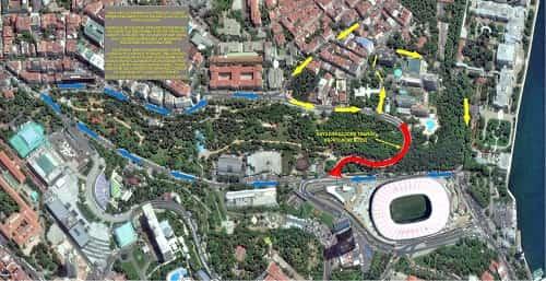 Dolmabahçe-Levazım Tüneli'nde çalışmalar hız kazanıyor