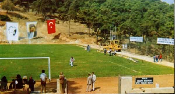 Büyükada spor tesisleri inşaatı start aldı