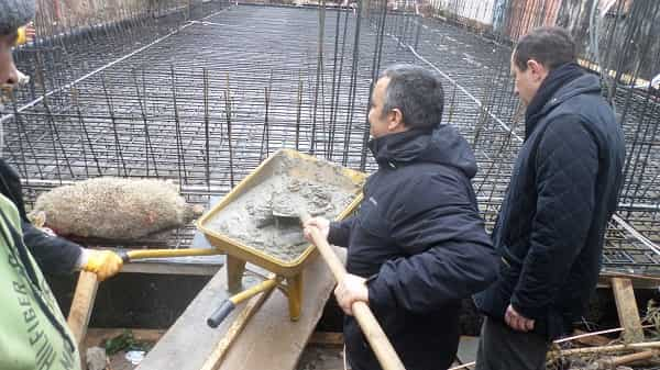 Kınalıada Polis Karakolunun yeni hizmet binasının temeli atıldı