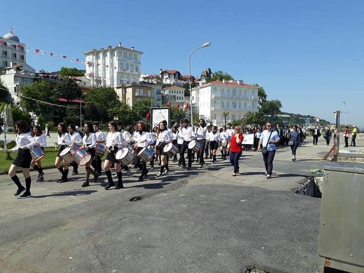 19 Mayıs Adalar'da düzenlenen törenlerle kutlandı