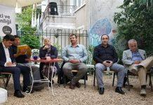 """Adalar'da CHP,HDP,İP,SP """"Seçim Süreci ve Güvenliği""""ni konuşmak amacıyla bir araya geldi."""