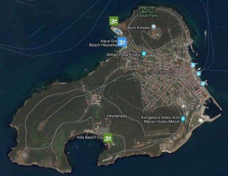 Heybeliada Plajlarının Deniz Suyu Analizi