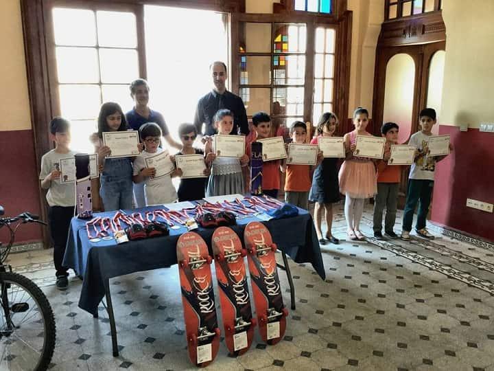 2017-2018 Adalar Satranç İlçe Birinciliği Büyükada'da sona erdi