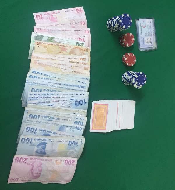 Adalar'da kumarcılara operasyon 4 şahıs gözaltına alındı