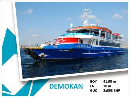 Bostancı-Heybeliada-Büyükada Mavi Marmara Motor terifesi