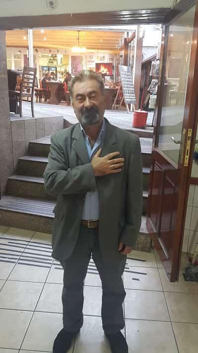 """Ali Ekber Aktaş:""""Büyük Önder Atatürk'ü şükranla anıyor, manevi huzurunda saygıyla eğiliyorum"""""""