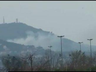 Büyükada Dilburnu Tabiat Parkı yakınında yangın
