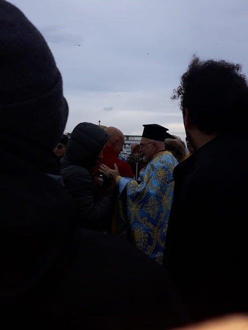Büyükada'da haç çıkarma töreni