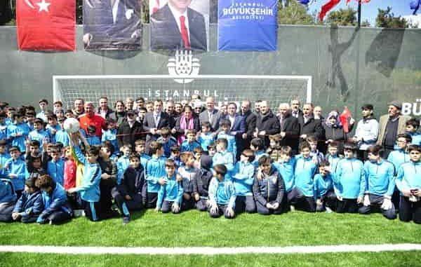 Büyükada'daki Koca Yusuf Stadı açıldı