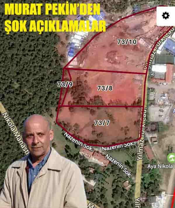 """DSP Adalar İlçe Başkanı: """"İmar planlarının iptaline sebep olanlar Erdem Gül'ün kolunda dolaşıyor"""""""