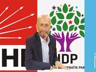 HDP Genel Başkanı CHP ve İYİ Parti Belediye Başkan Adaylarını Tehdit Etti