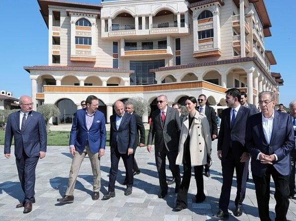 Cumhurbaşkanı Erdoğan Yassıada'yı ziyaret etti