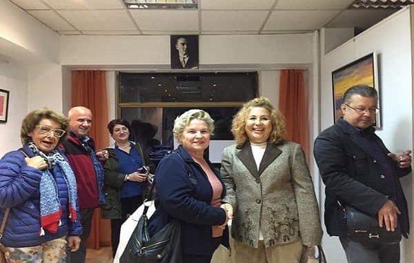 ''Türkiyem'' karma resim sergisi Venüs Sanat Galerisi'nde açıldı…