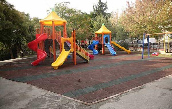 Kağıthane'de parklar yenileniyor