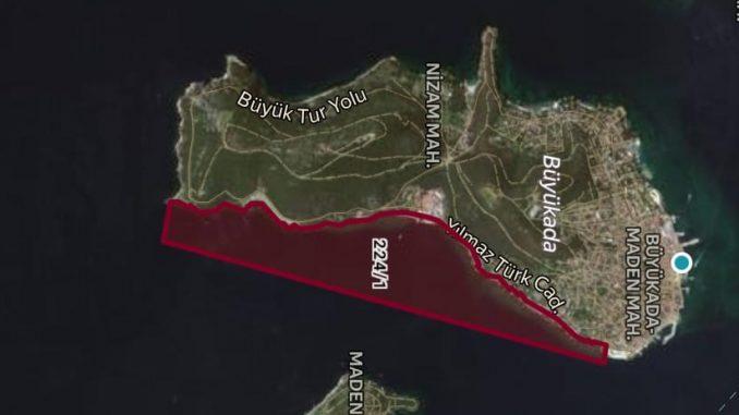 Adaların kıyılarından sonra denizleri de işgal altında!!!