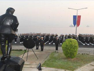 Deniz Harp Okulu ve Lisesi 246'ncı Kuruluş Yıl Dönümü Törenle kutlandı