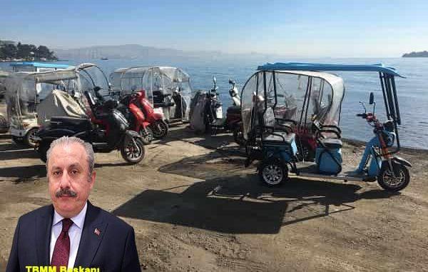 FLAŞ!!! Adalar'da akülü araçların kullanımına geçiliyor.