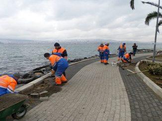 İBB Adalar'da 21 bin 846 metre asfalt kaplama ile yama yapacak