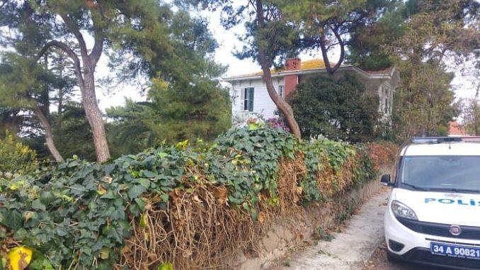 Mesurier'in Büyükada'daki evini görüntüledik